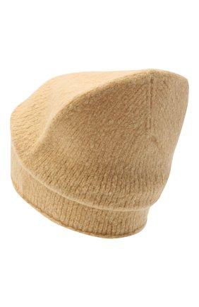 Женская шапка из шерсти и кашемира KENZO бежевого цвета, арт. FA68BU107KEF | Фото 2