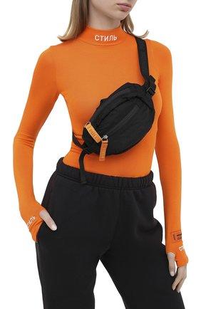 Женская поясная сумка HERON PRESTON черного цвета, арт. HWNA008E20FAB0011010 | Фото 2