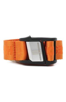 Женский ремень HERON PRESTON оранжевого цвета, арт. HWRB005E20MAT0012200   Фото 1