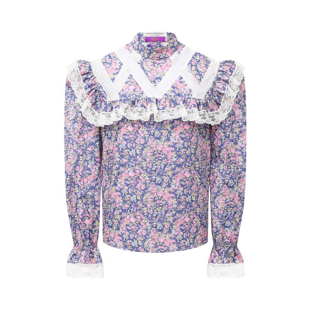 Хлопковая блузка Philosophy di Lorenzo Serafini