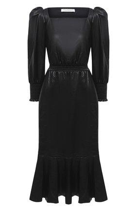 Женское платье-миди PHILOSOPHY DI LORENZO SERAFINI черного цвета, арт. A0414/5740 | Фото 1