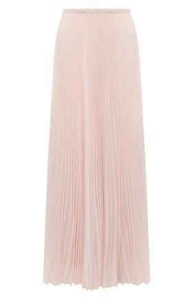 Женская юбка-макси PHILOSOPHY DI LORENZO SERAFINI розового цвета, арт. A0108/5724 | Фото 1