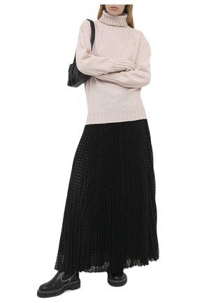 Женская юбка-макси PHILOSOPHY DI LORENZO SERAFINI черного цвета, арт. A0108/5724   Фото 2