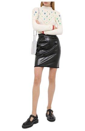 Женская юбка PHILOSOPHY DI LORENZO SERAFINI черного цвета, арт. A0106/5741 | Фото 2