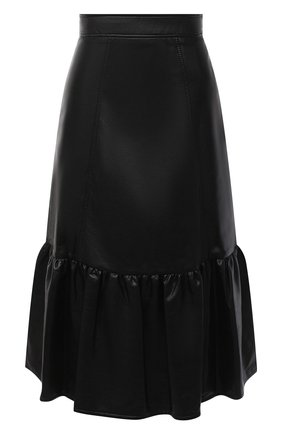 Женская юбка PHILOSOPHY DI LORENZO SERAFINI черного цвета, арт. A0102/5740 | Фото 1