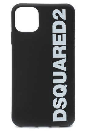 Мужской чехол для iphone 11 pro max DSQUARED2 черно-белого цвета, арт. ITM0088 55000001 | Фото 1