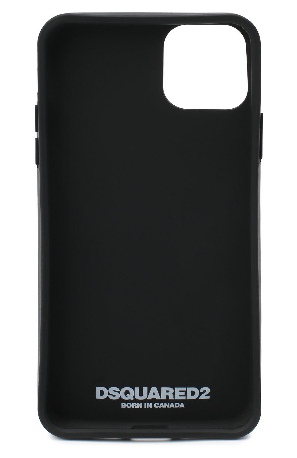 Мужской чехол для iphone 11 pro max DSQUARED2 черно-белого цвета, арт. ITM0088 55000001 | Фото 2