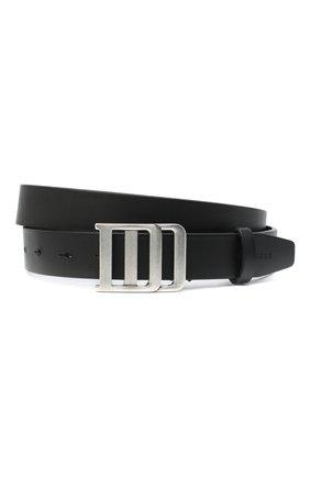 Мужской кожаный ремень DSQUARED2 черного цвета, арт. BEM0198 12900001 | Фото 1