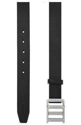Мужской кожаный ремень DSQUARED2 черного цвета, арт. BEM0198 12900001 | Фото 2