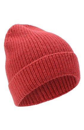 Мужская шапка из шерсти и шелка BRIONI красного цвета, арт. 04M80L/09K32 | Фото 1