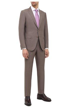 Мужской кожаные дерби H`D`S`N BARACCO бордового цвета, арт. 80221.M.0* | Фото 2