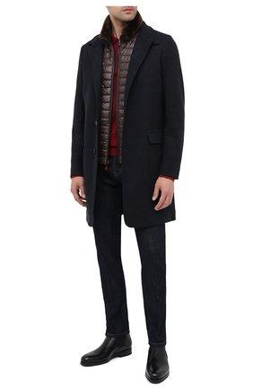 Мужские кожаные челси SANTONI черного цвета, арт. MCAZ16456SI5EKYBN01 | Фото 2