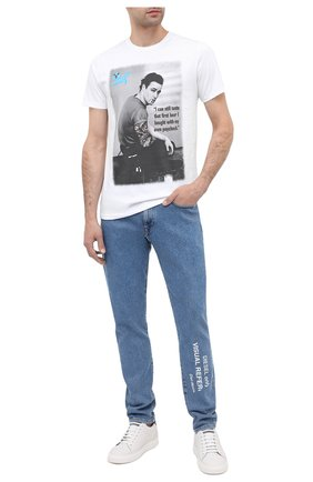 Мужская хлопковая футболка BISIBIGLIO белого цвета, арт. MARL0N BRAN/PESANTE | Фото 2