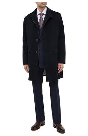 Мужская хлопковая сорочка ERMENEGILDO ZEGNA сиреневого цвета, арт. 801012/9MS0BR | Фото 2