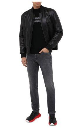 Мужские джинсы Z ZEGNA темно-серого цвета, арт. VV772/ZZ530 | Фото 2