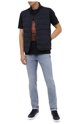 Мужские джинсы Z ZEGNA голубого цвета, арт. VV771/ZZ530 | Фото 2