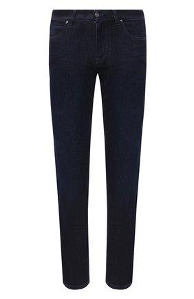 Мужские джинсы Z ZEGNA темно-синего цвета, арт. VV751/ZZ540 | Фото 1