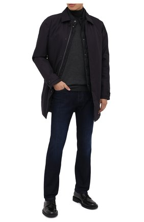 Мужские джинсы Z ZEGNA темно-синего цвета, арт. VV751/ZZ540 | Фото 2
