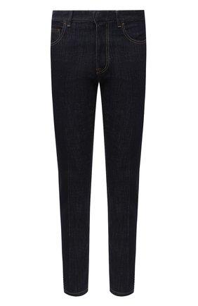 Мужские джинсы ERMENEGILDO ZEGNA темно-синего цвета, арт. UVL02/JL02 | Фото 1