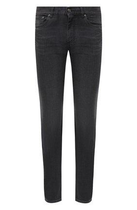 Мужские джинсы ERMENEGILDO ZEGNA темно-серого цвета, арт. UVI80/JS01 | Фото 1