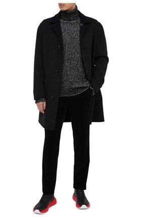 Мужской свитер из шерсти и кашемира ERMENEGILDO ZEGNA серого цвета, арт. UVF85/120 | Фото 2