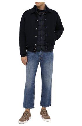Мужской пуховый жилет Z ZEGNA темно-синего цвета, арт. VV044/ZZ063 | Фото 2