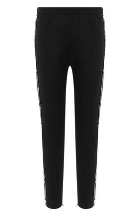 Мужской шерстяные брюки DSQUARED2 черного цвета, арт. S74KB0449/S40320 | Фото 1
