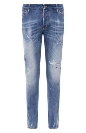 Мужские джинсы DSQUARED2 синего цвета, арт. S74LB0748/S30342 | Фото 1