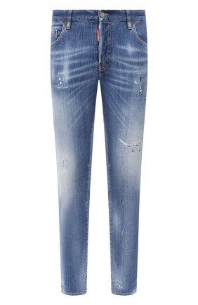 Мужские джинсы DSQUARED2 синего цвета, арт. S74LB0749/S30342 | Фото 1