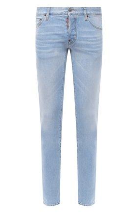 Мужские джинсы DSQUARED2 голубого цвета, арт. S74LB0750/S30663 | Фото 1
