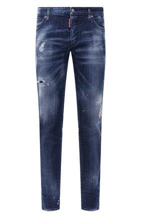 Мужские джинсы DSQUARED2 синего цвета, арт. S74LB0755/S30342 | Фото 1