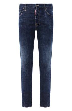 Мужские джинсы DSQUARED2 синего цвета, арт. S74LB0759/S30342 | Фото 1