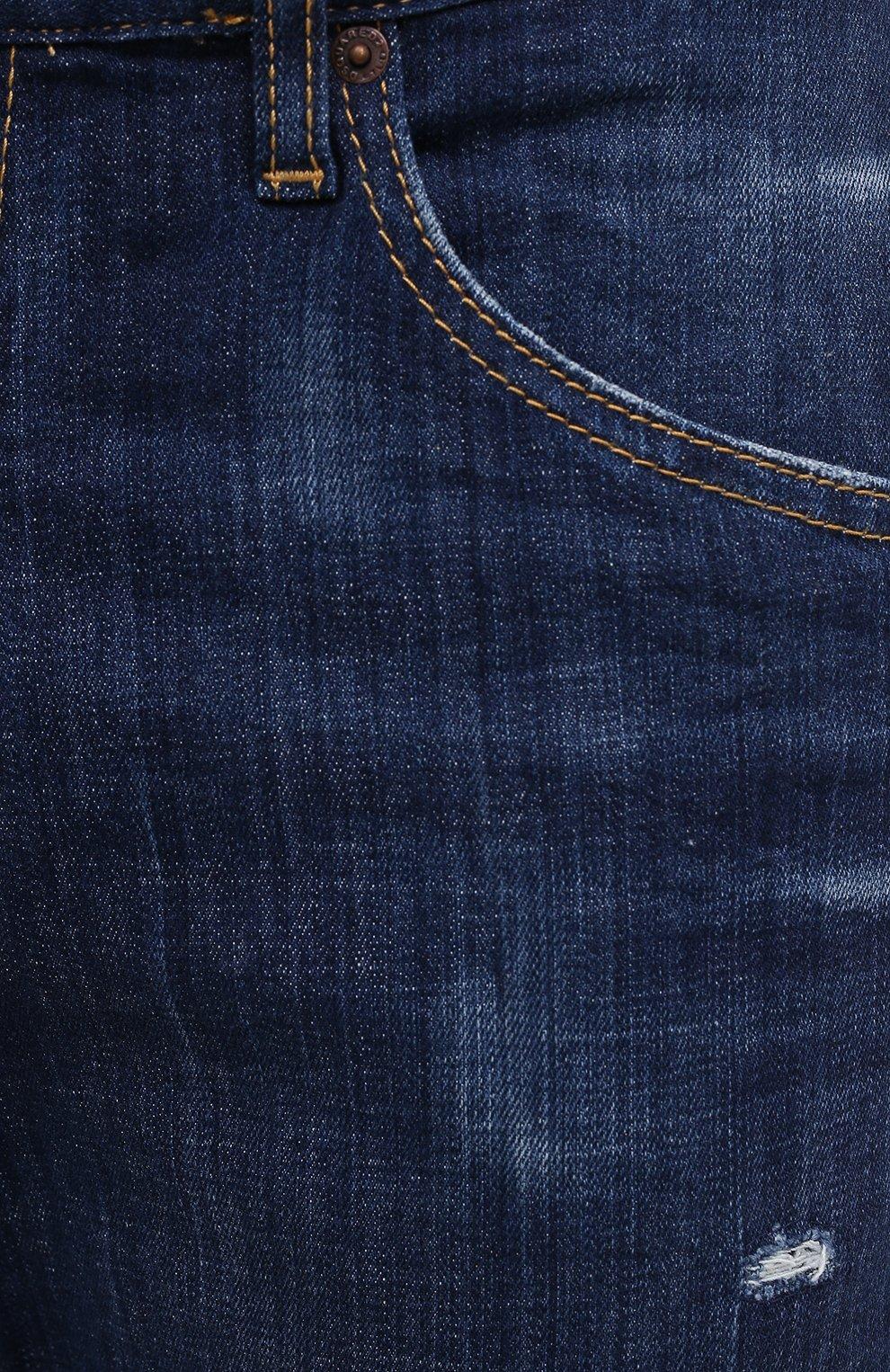 Мужские джинсы DSQUARED2 синего цвета, арт. S74LB0759/S30342 | Фото 5