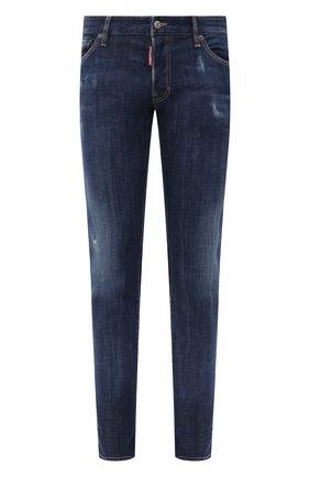 Мужские джинсы DSQUARED2 синего цвета, арт. S74LB0761/S30342 | Фото 1