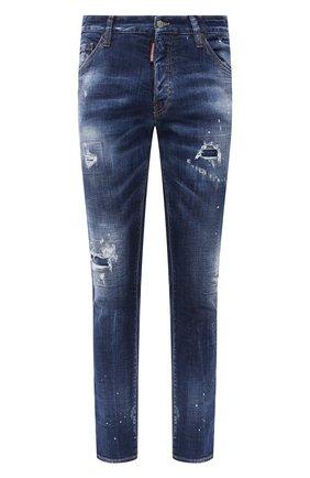 Мужские джинсы DSQUARED2 синего цвета, арт. S74LB0763/S30342 | Фото 1