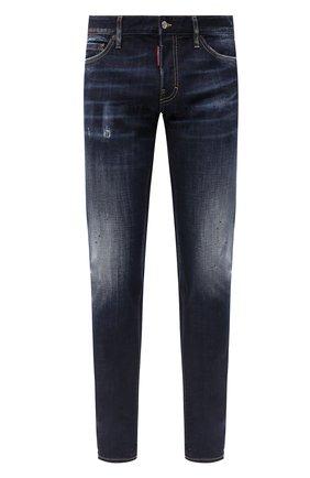 Мужские джинсы DSQUARED2 синего цвета, арт. S74LB0765/S30664 | Фото 1