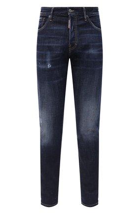 Мужские джинсы DSQUARED2 синего цвета, арт. S74LB0766/S30664 | Фото 1