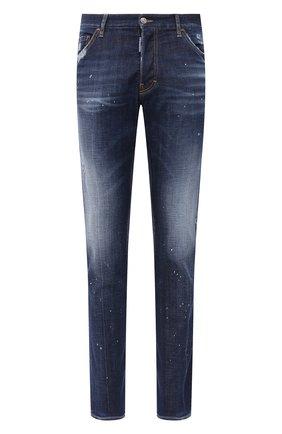 Мужские джинсы DSQUARED2 синего цвета, арт. S74LB0768/S30342 | Фото 1
