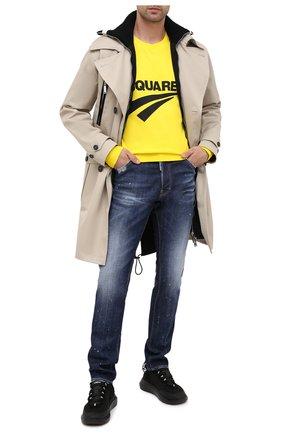 Мужские джинсы DSQUARED2 синего цвета, арт. S74LB0768/S30342 | Фото 2