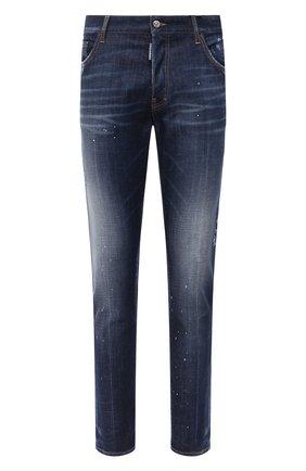 Мужские джинсы DSQUARED2 синего цвета, арт. S74LB0769/S30342 | Фото 1
