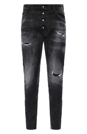 Мужские джинсы DSQUARED2 темно-серого цвета, арт. S74LB0782/S30357 | Фото 1