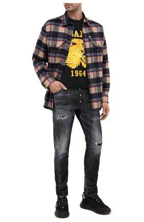 Мужские джинсы DSQUARED2 темно-серого цвета, арт. S74LB0782/S30357 | Фото 2