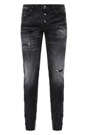 Мужские джинсы DSQUARED2 темно-серого цвета, арт. S74LB0784/S30357 | Фото 1