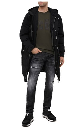 Мужские джинсы DSQUARED2 темно-серого цвета, арт. S74LB0784/S30357 | Фото 2