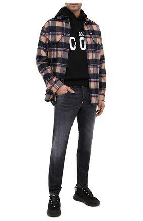 Мужские джинсы DSQUARED2 темно-серого цвета, арт. S74LB0789/S30503 | Фото 2