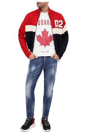 Мужские джинсы DSQUARED2 синего цвета, арт. S74LB0791/S30342 | Фото 2