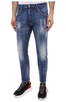 Мужские джинсы DSQUARED2 синего цвета, арт. S74LB0791/S30342 | Фото 3