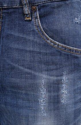 Мужские джинсы DSQUARED2 синего цвета, арт. S74LB0791/S30342 | Фото 5