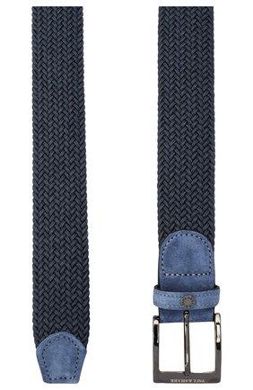 Мужской ремень PAUL&SHARK синего цвета, арт. I20P6002/GQU | Фото 2