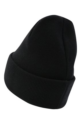 Мужская шерстяная шапка icon DSQUARED2 черного цвета, арт. KNM0001 13620001 | Фото 2